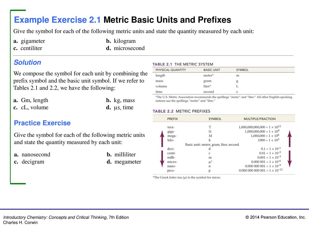 Example exercise 21 metric basic units and prefixes ppt video example exercise 21 metric basic units and prefixes biocorpaavc Choice Image