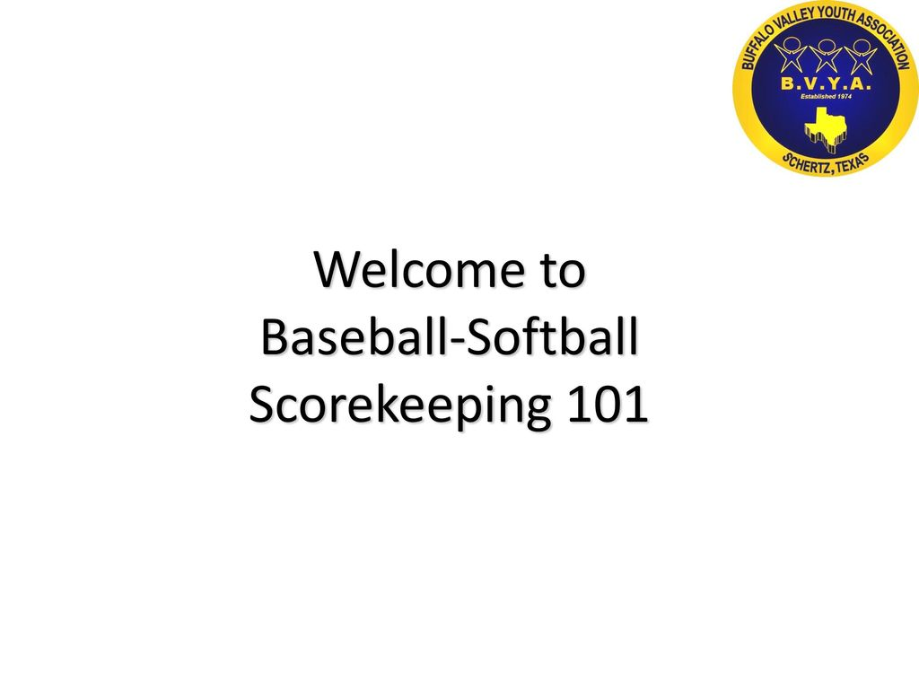 baseball-softball scorekeeping ppt video online download, Powerpoint templates