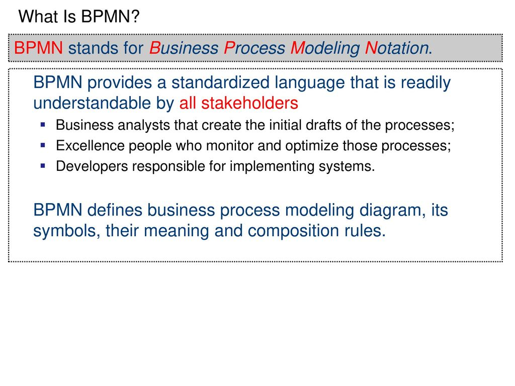 modeling and implementing business processes Answer a difficulty moderate aacsb information (bpm) is a cyclical process for systematically monitoring, modeling, creating, and implementing business processes as 1 course lo: discuss the role of information systems in supporting business processes 95) describe the modeling.