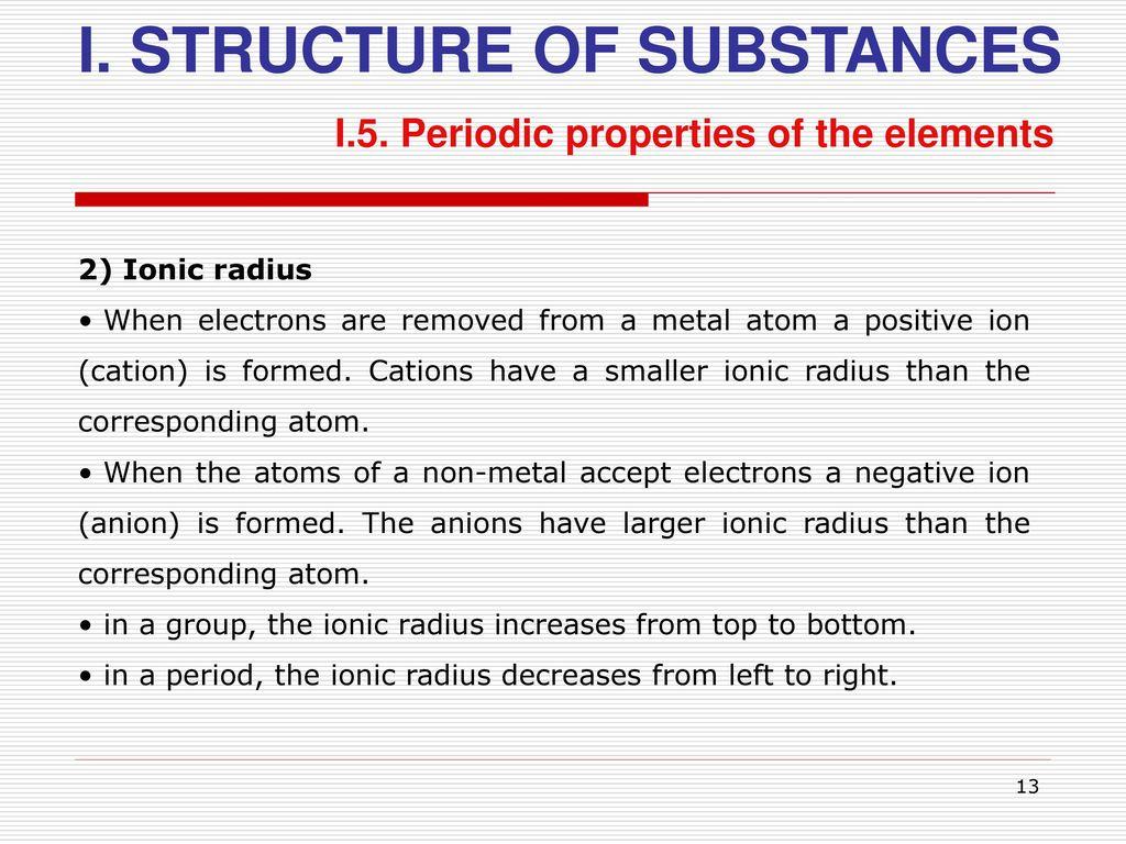 I structure of substances ppt download 13 i structure of substances gamestrikefo Images