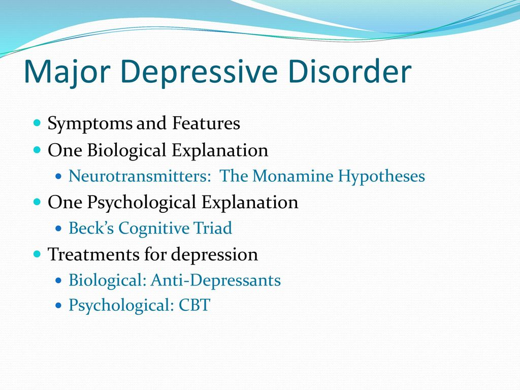 major depressive disorder symptoms Major depressive disorder  major depressive disorder is also known as major depression  in addition they will have other physical and mental symptoms that may.