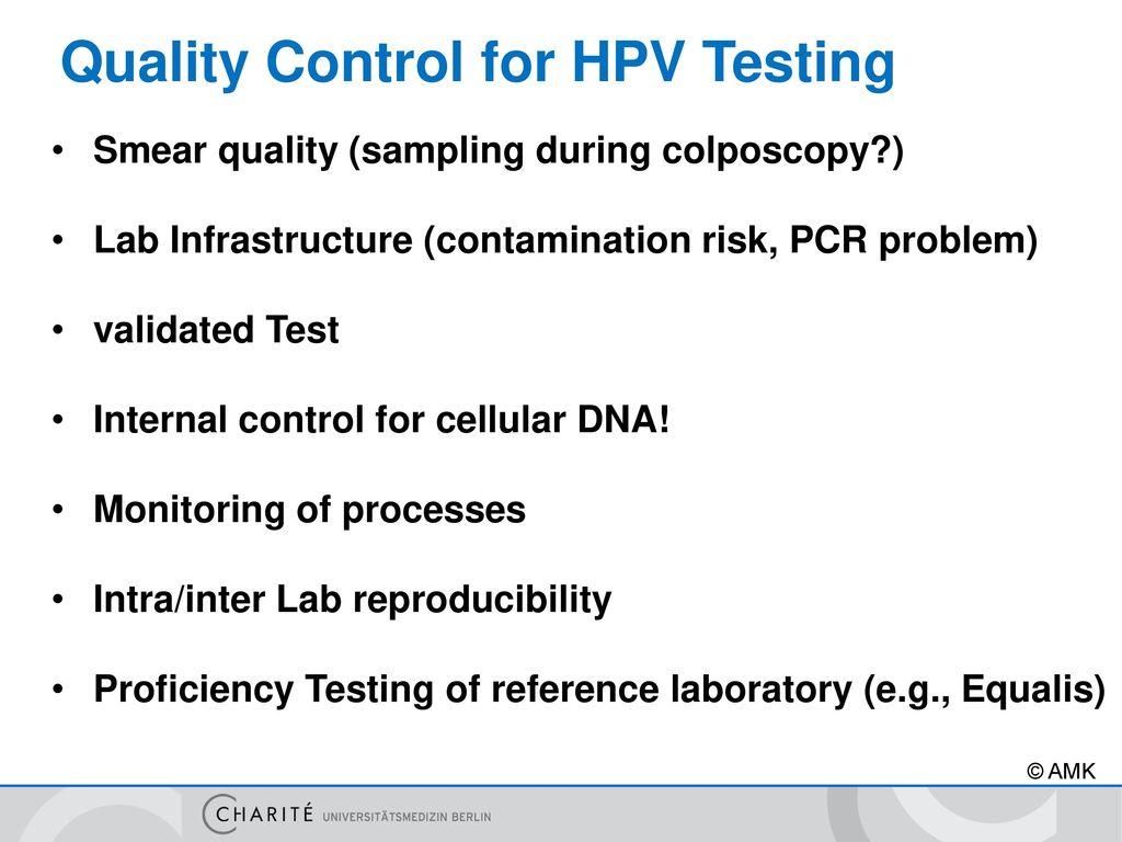 Screening Methods For Hpv And Dysplasia Detection Ppt