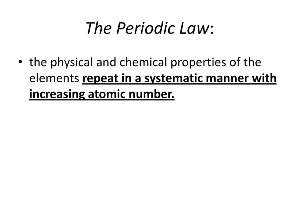 unit 5 periodic properties of