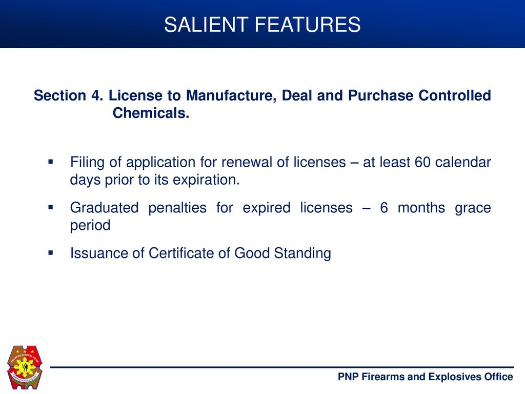 PROCESS FLOW OF APPLICATION OF PNP LICENSES AND PERMITS - ppt download
