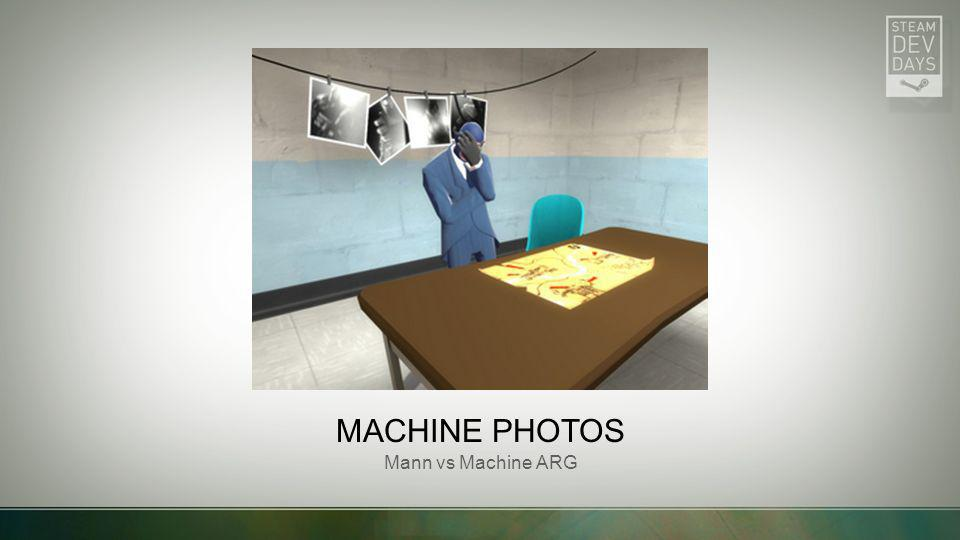 Machine Photos Mann vs Machine ARG Picture with caption
