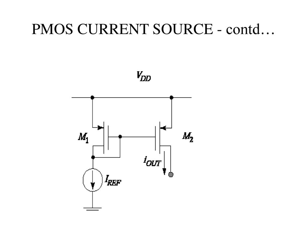 Unit v ic mosfet amplifiers ppt video online download 13 pmos current source contd biocorpaavc Images