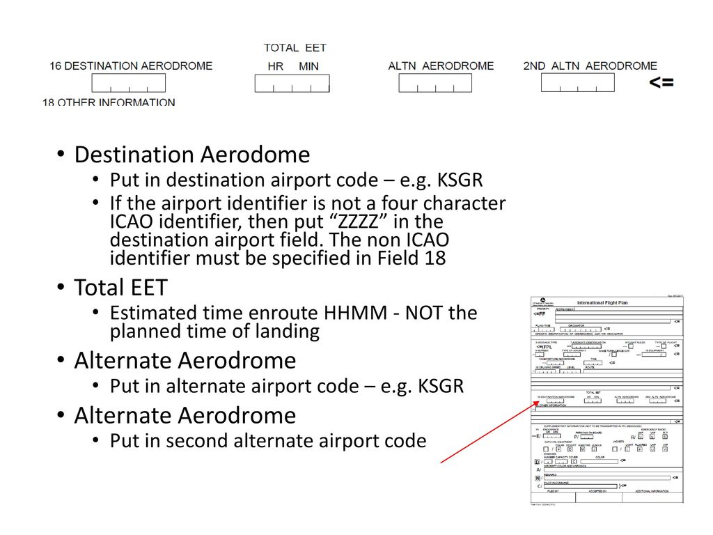 icao airport codes