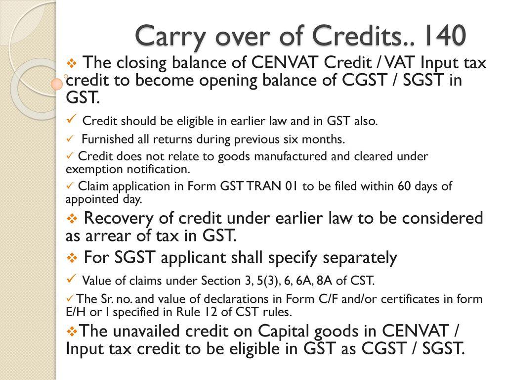 sgst tax notification