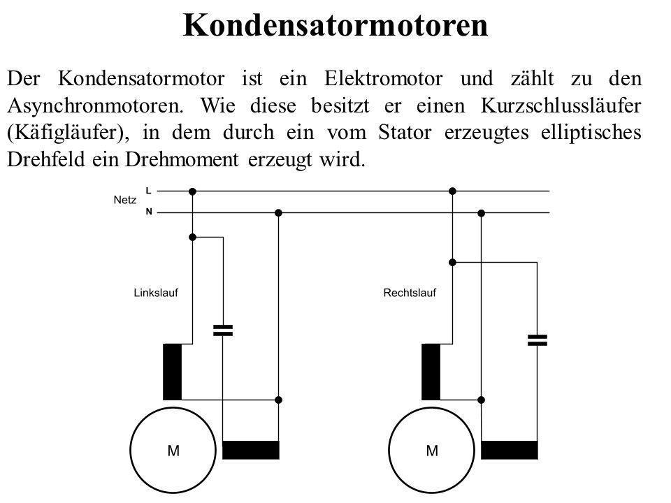 Kondensatormotoren