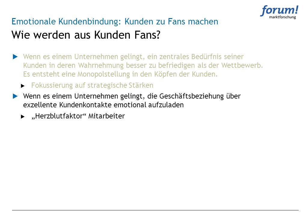 Wie werden aus Kunden Fans