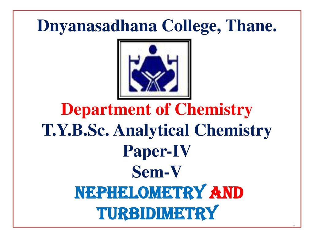 thesis of analytical chemistry The umass lowell chemistry department has an approved non-thesis master of science in chemistry (ntmc) degree this ntmc degree ordinarily requires 30 credits with the following requirements:  organic chemistry, inorganic chemistry, analytical chemistry, physical chemistry, biochemistry or polymer chemistry, unless such.