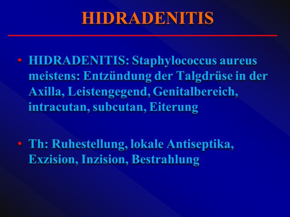 HIDRADENITIS