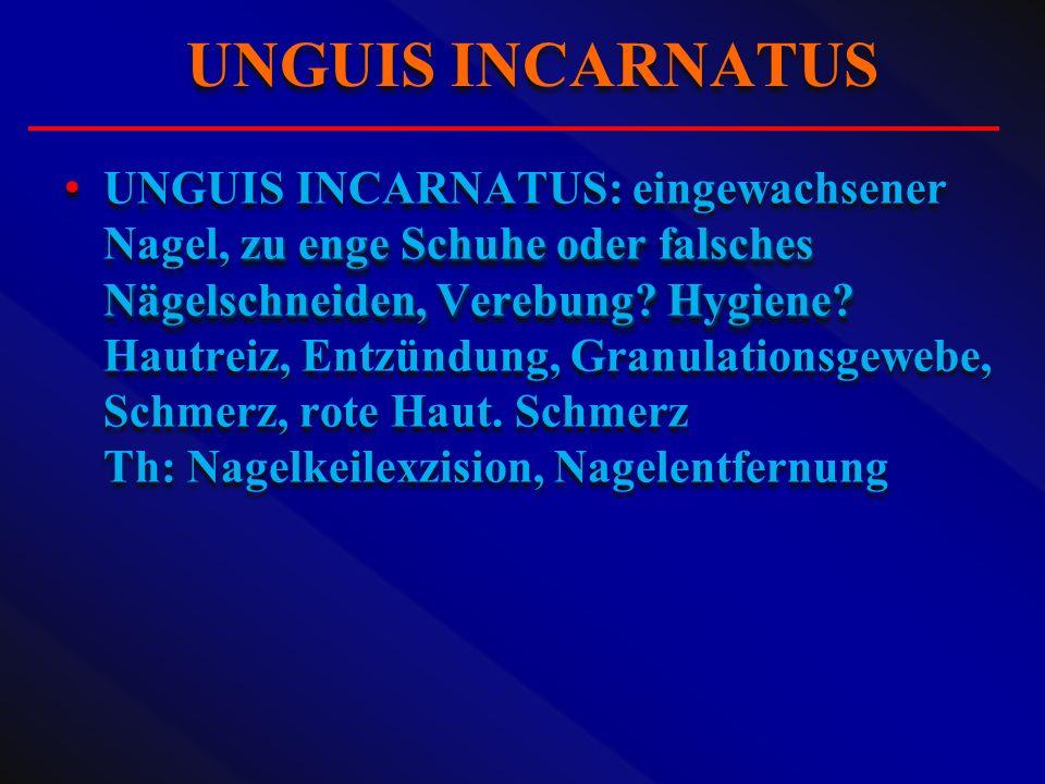 UNGUIS INCARNATUS