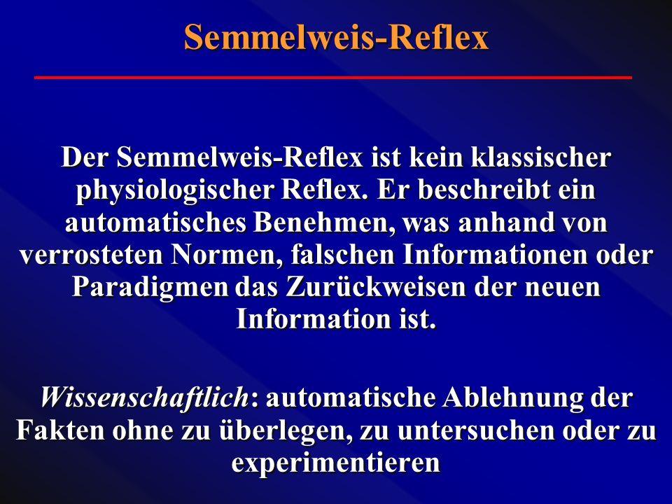 Semmelweis-Reflex