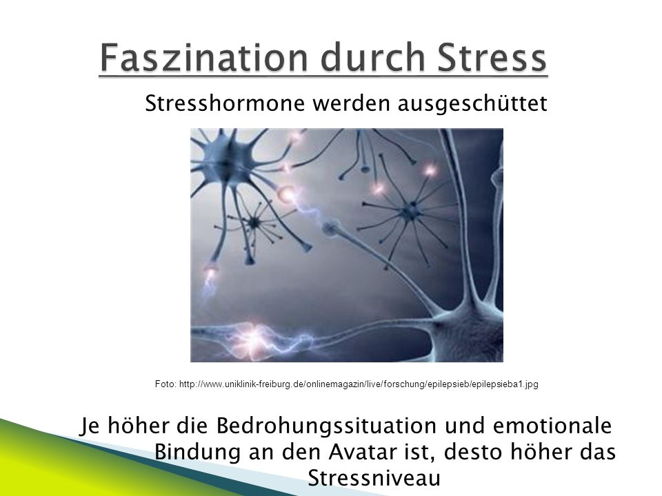 Faszination durch Stress