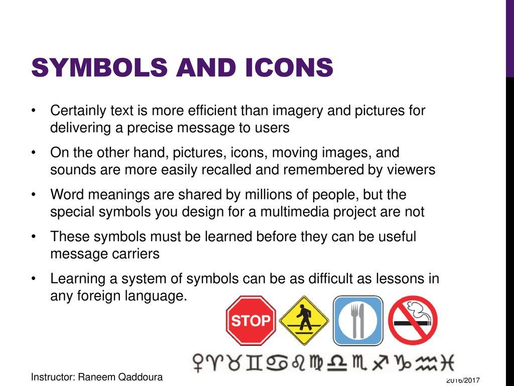 Multimedia making it work ppt download 26 symbols biocorpaavc