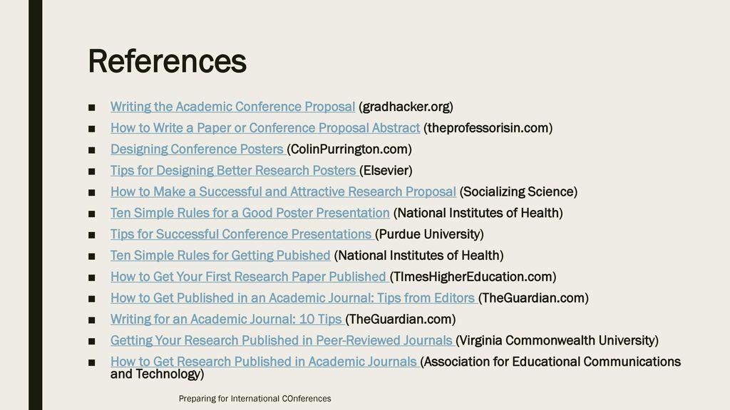 preparing for international conferences - ppt video online download, Presentation templates