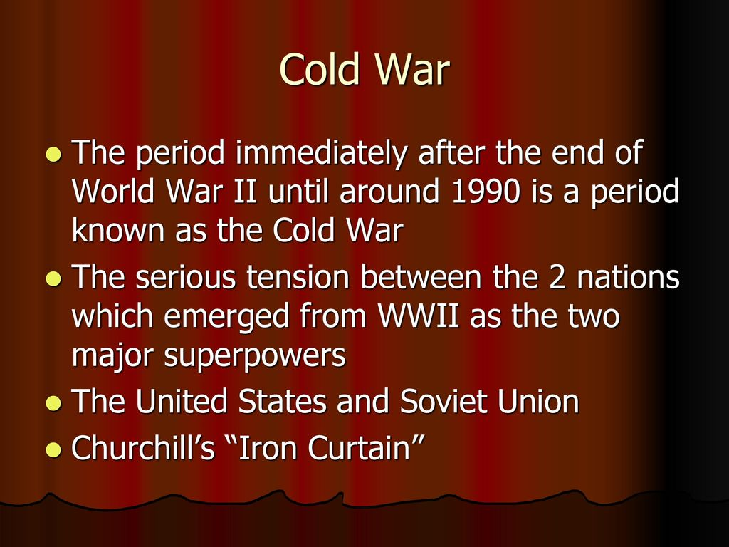 the rise of the superpowers of russia and the us after the world war ii World war ii also gave the impetus for the establishment of the united na-tions in 1945, with the full backing of the us and other major powers the us also helped establish the other multilateral organisations such as the imf, world bank and the gatt, the forerunner of the wto.