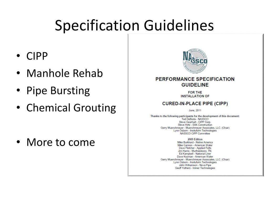 Pipeline assessment certification program pacp ppt download inspector training and certification program xflitez Images