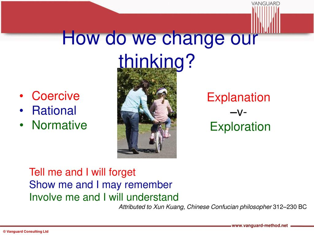 how to change our thinking
