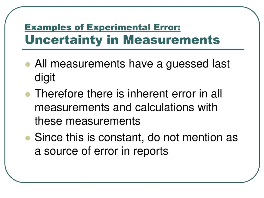 errors and uncertainties in measurement Direction, known as the systematic error }range of uncertainty unknown 'true'  value upper limit lower limit error error mean measured value the above system.