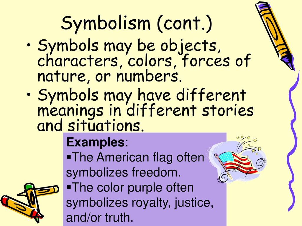 Figurative language symbolism personification simile puns metaphor 6 symbolism cont buycottarizona