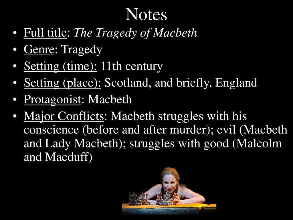 an opinion that lady macbeth is not the tragedy in the play macbeth Character studies of shakespeare's macbeth and lady macbeth  and his lady,  there has been much discussion and a wide divergence of opinion  but is  condemned to death for treason but just what his treason was he does not know.