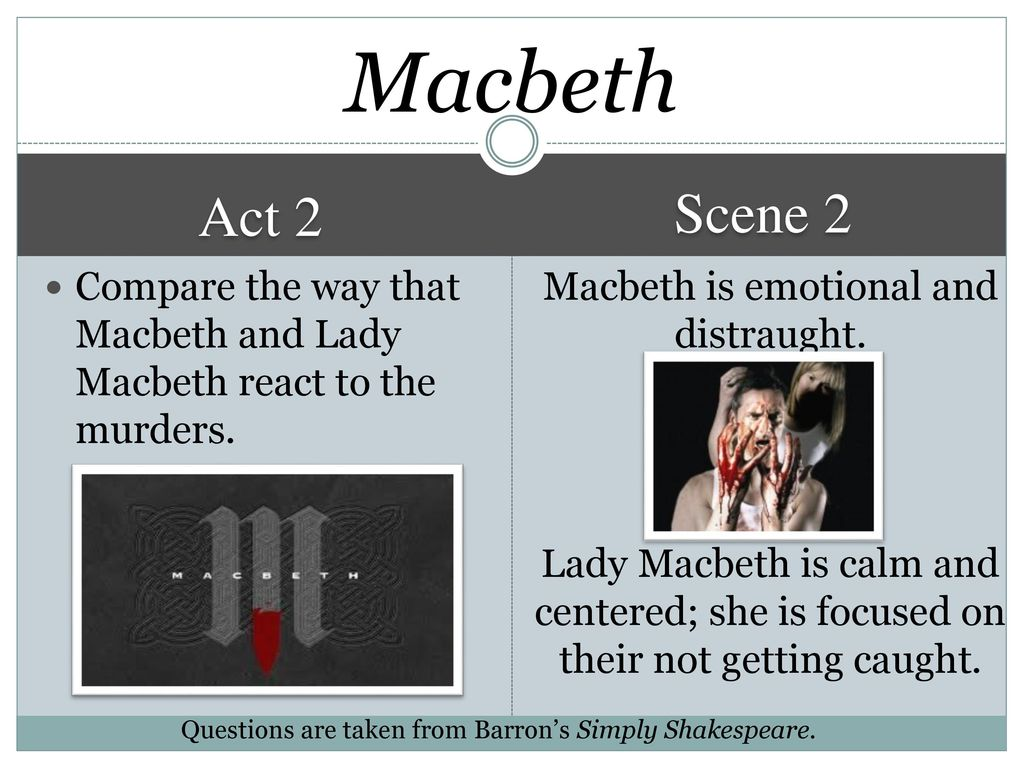 "a comparison of macbeth and bigger A comparison between shakespeare's macbeth  2 ""macbeth"" – the play in comparison with two film feeling himself safe and there the big difference comes."