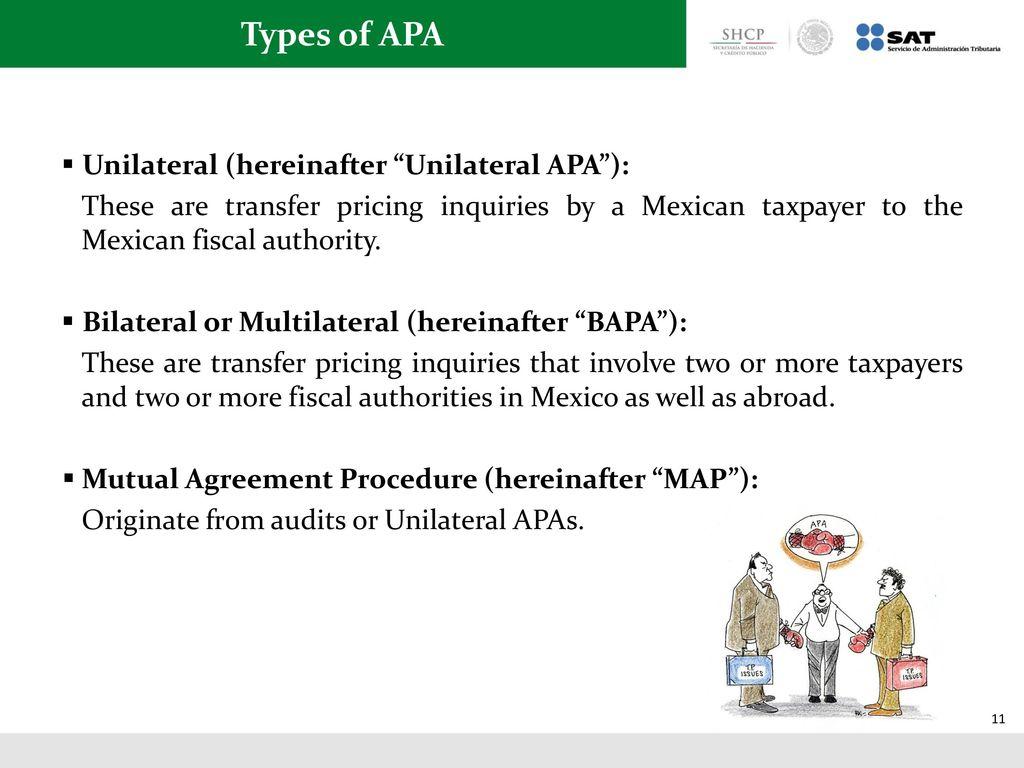 Advanced transfer pricing arrangements ppt download types of apa unilateral hereinafter unilateral apa platinumwayz