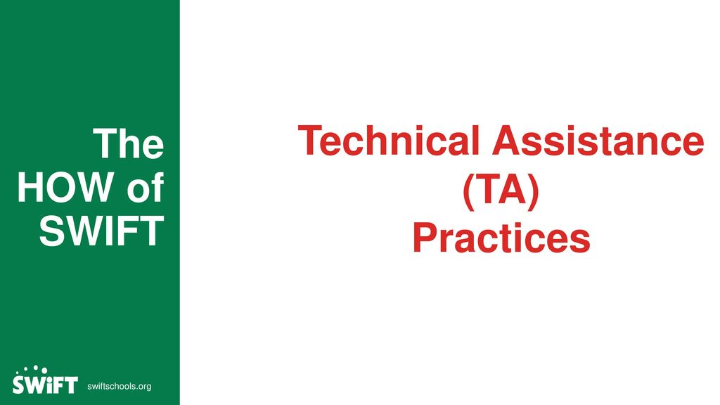 Technical Assistance (TA)
