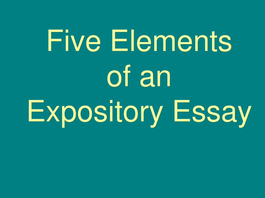 difference between narrative and expository text