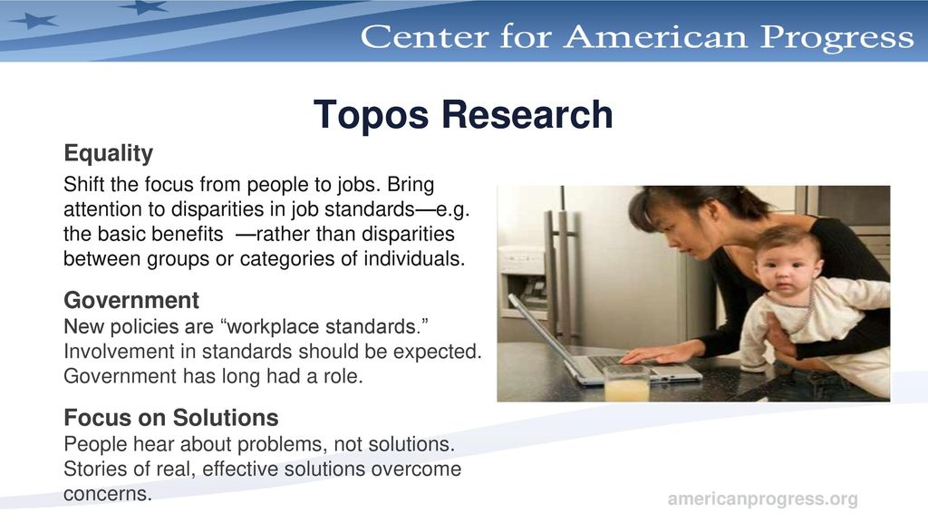 Topos Research Equality Government Focus on Solutions