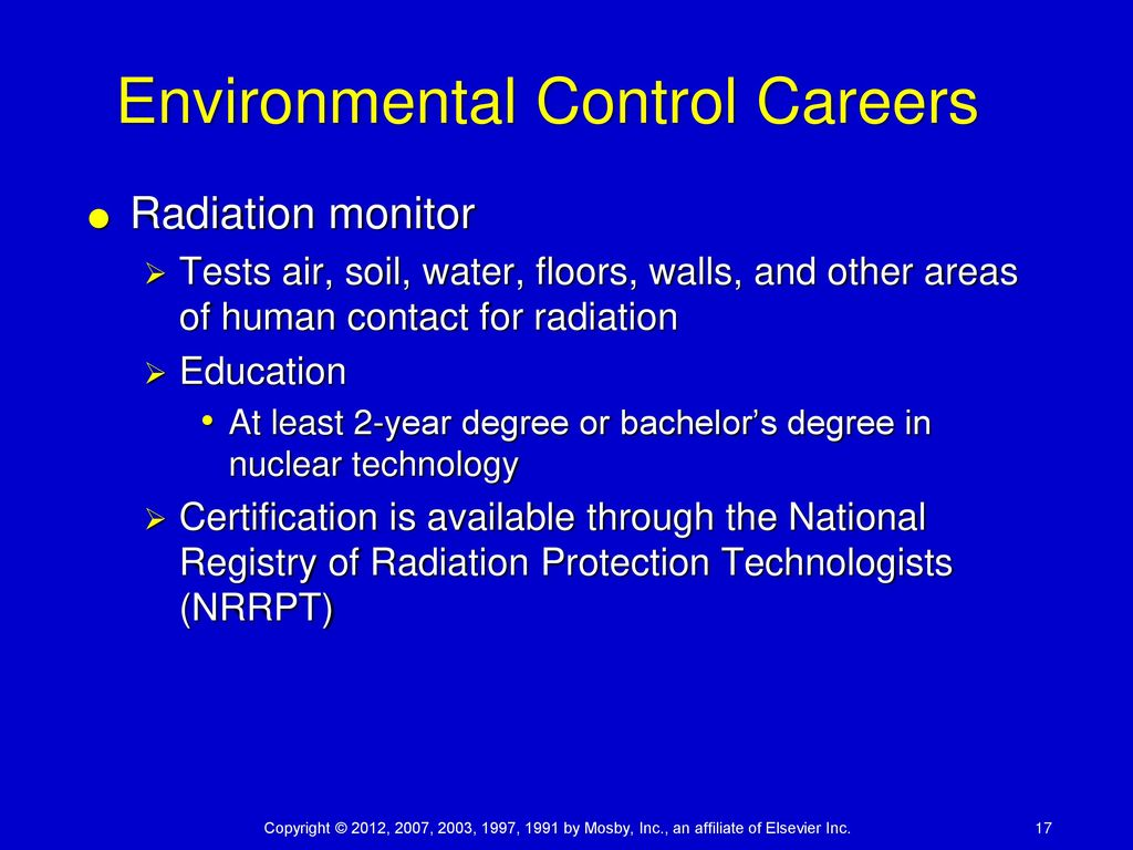 Chapter 34 environmental careers ppt download environmental control careers xflitez Image collections