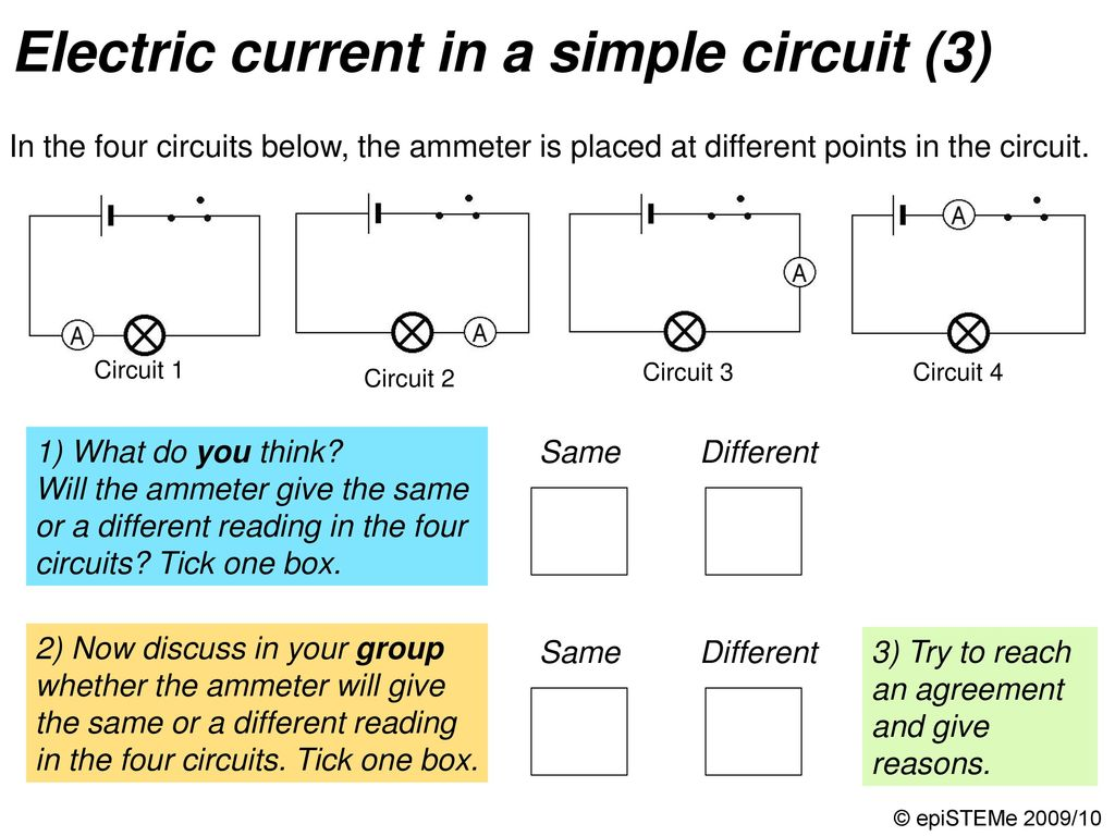 Four Circuits Draw A Line From Each Electrical Circuit To The Short Circuit4 26 Electric