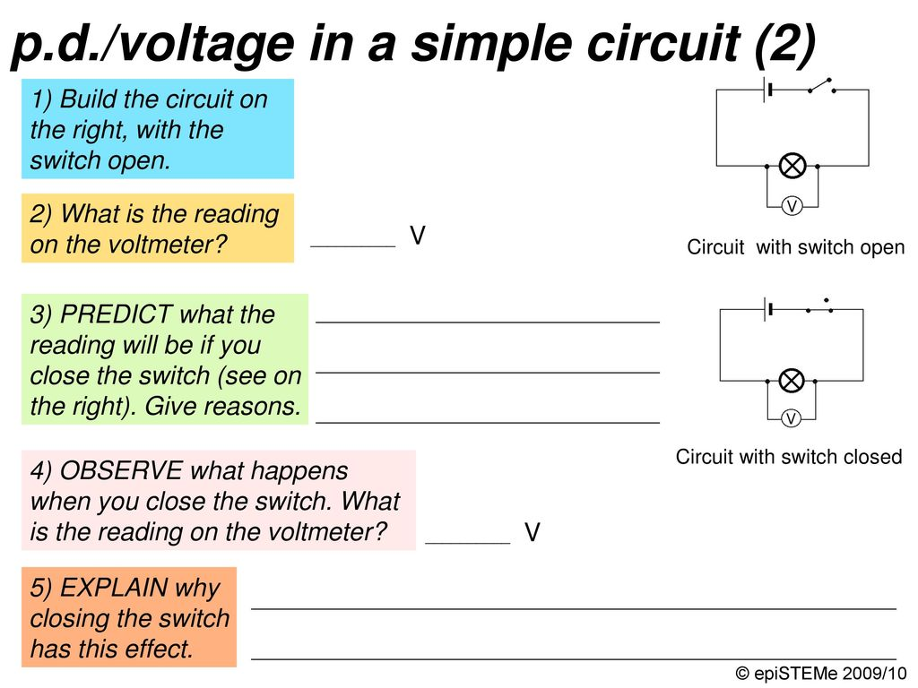 four circuits draw a line from each electrical circuit to theHappen Read On For A Brokendown Explanation Of Electrical Circuits #1