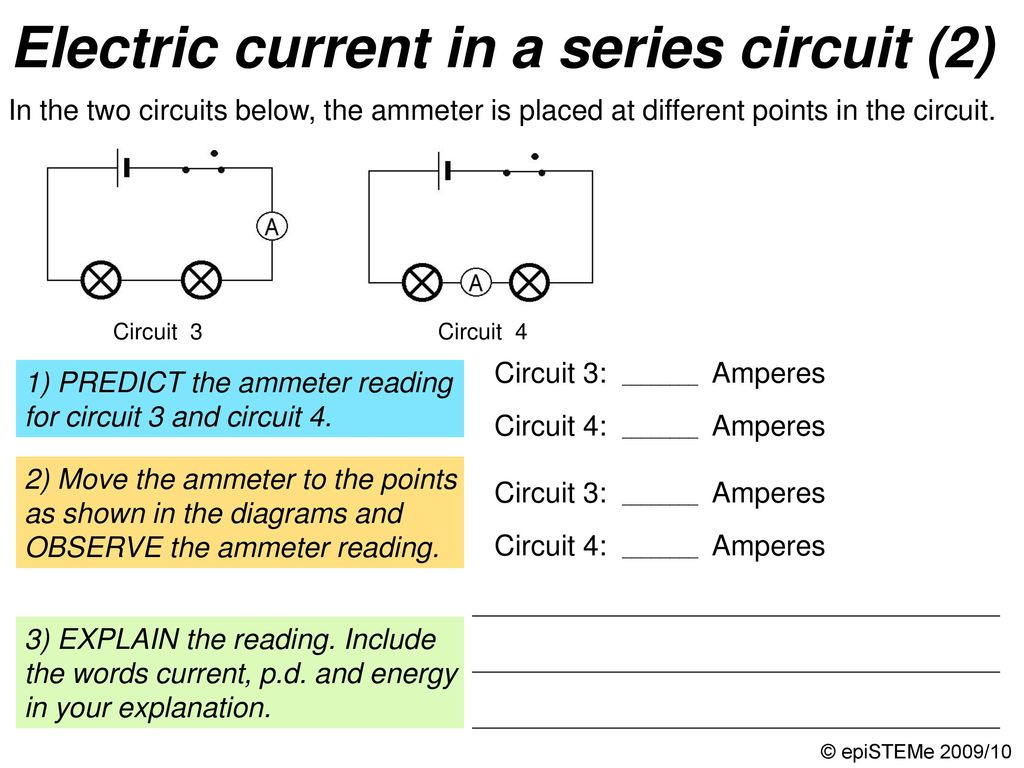 Four Circuits Draw A Line From Each Electrical Circuit To The Short Circuit4 38 Pd Voltage