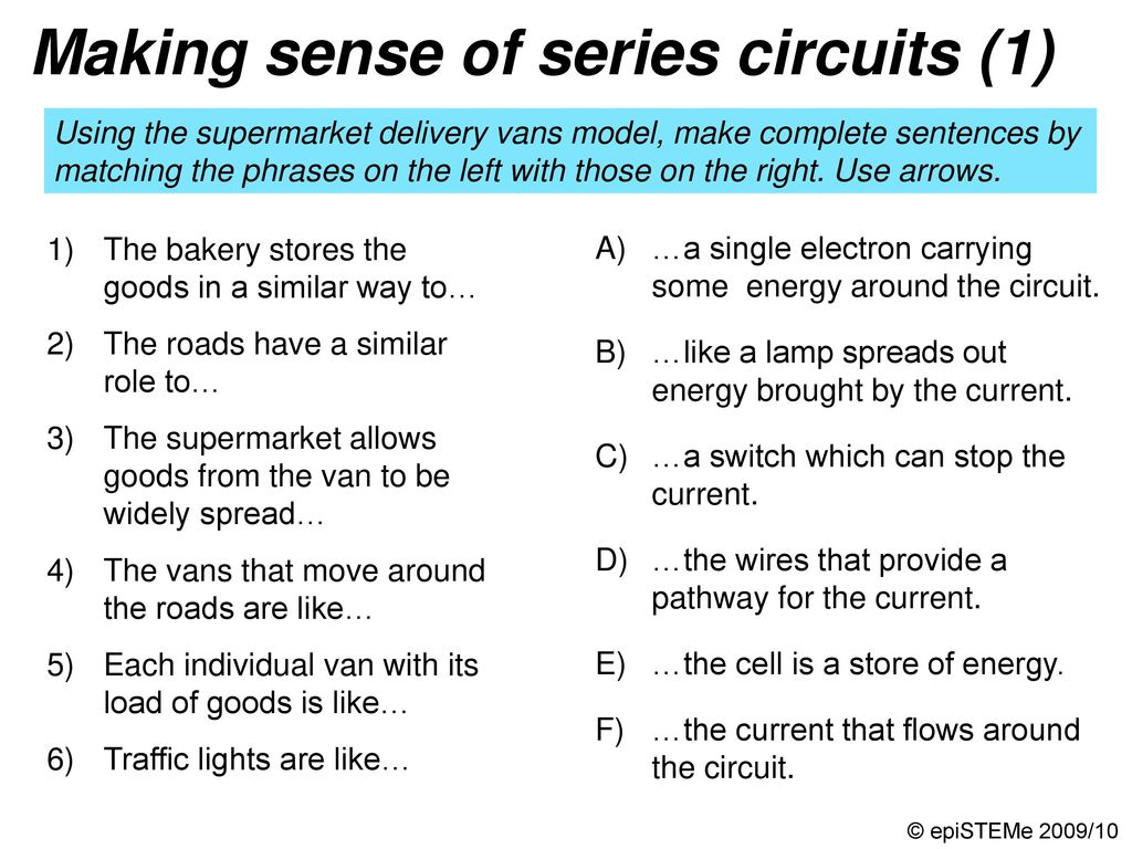 Four Circuits Draw A Line From Each Electrical Circuit To The What Happens Current In Other Lamps If One Lamp Series Making Sense Of 2