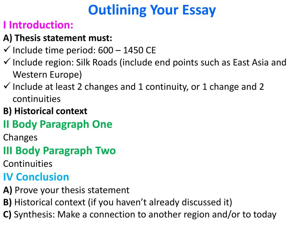 change and continuity essay 600 1500 silk road Continuity and change over time essay things that stayed the the decline in silk road trade continuity and change over time essay: rome from 100 ce to 600.
