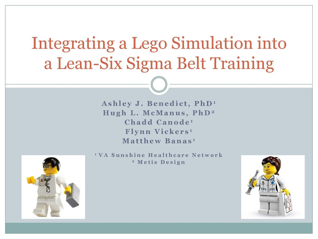 Integrating a lego simulation into a lean six sigma belt training integrating a lego simulation into a lean six sigma belt training 1betcityfo Gallery