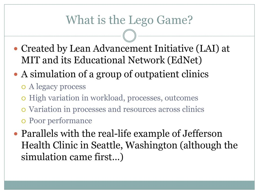 Integrating a lego simulation into a lean six sigma belt training 4 what 1betcityfo Images