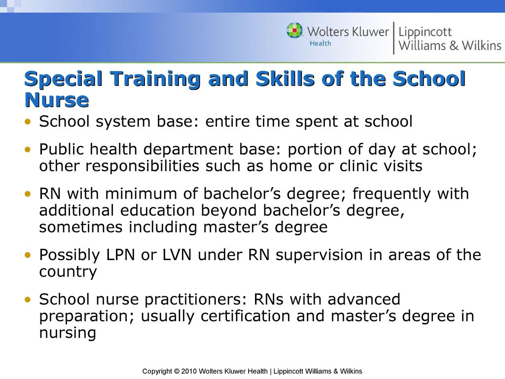 other special training or skills
