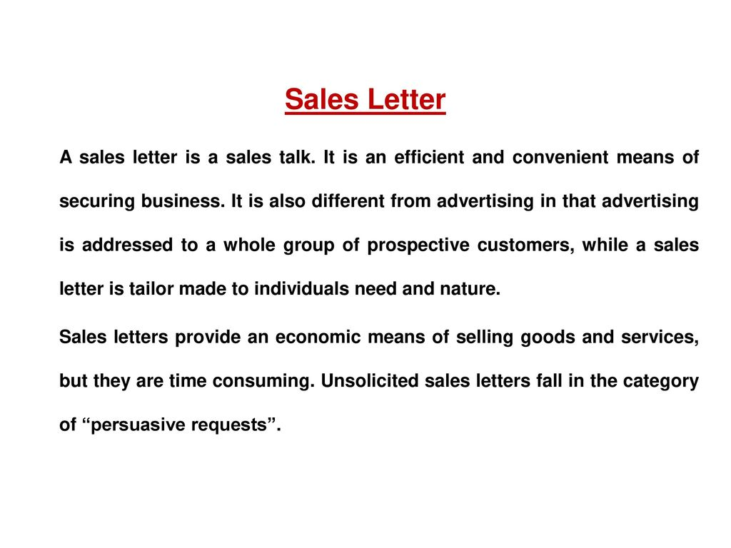 Persuasive Letter To Potential Customers Term Paper Sample