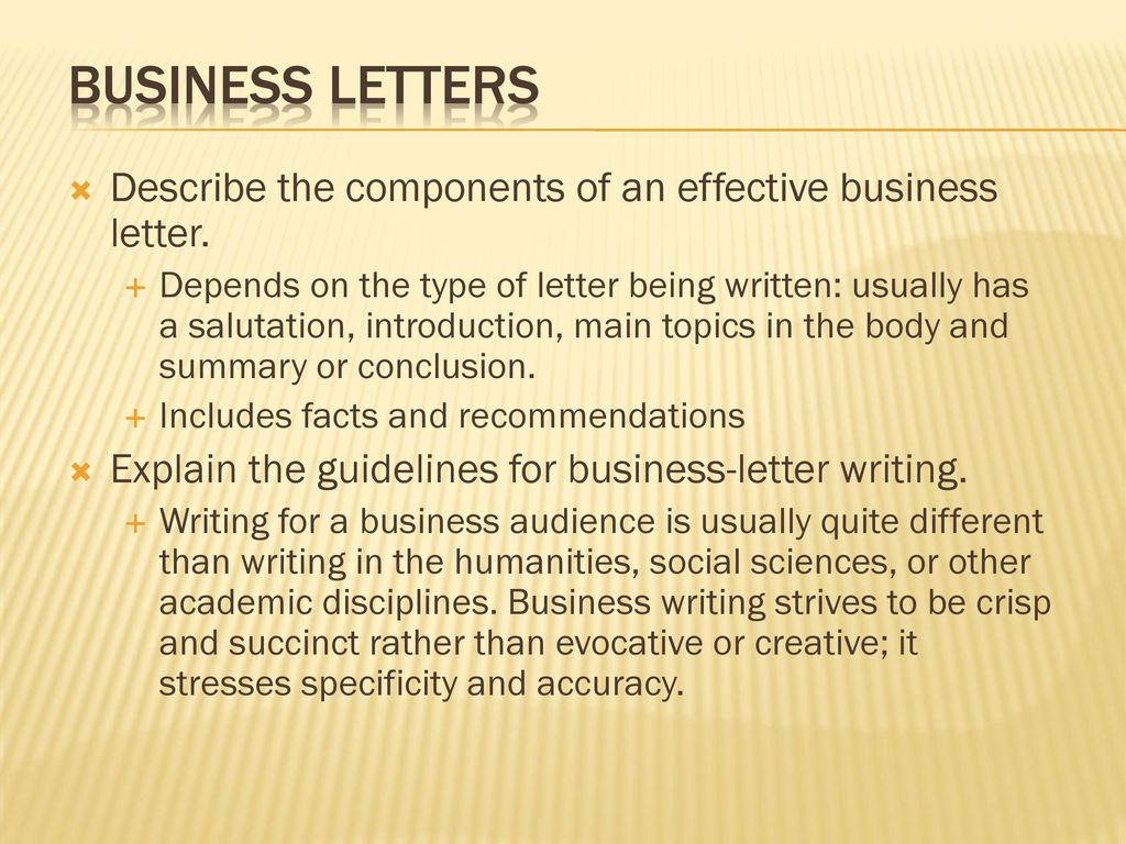 business writing different than academic writing
