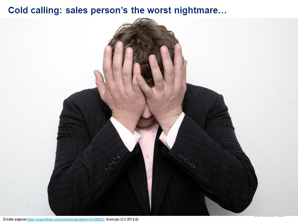 Cold calling: sales person's the worst nightmare…
