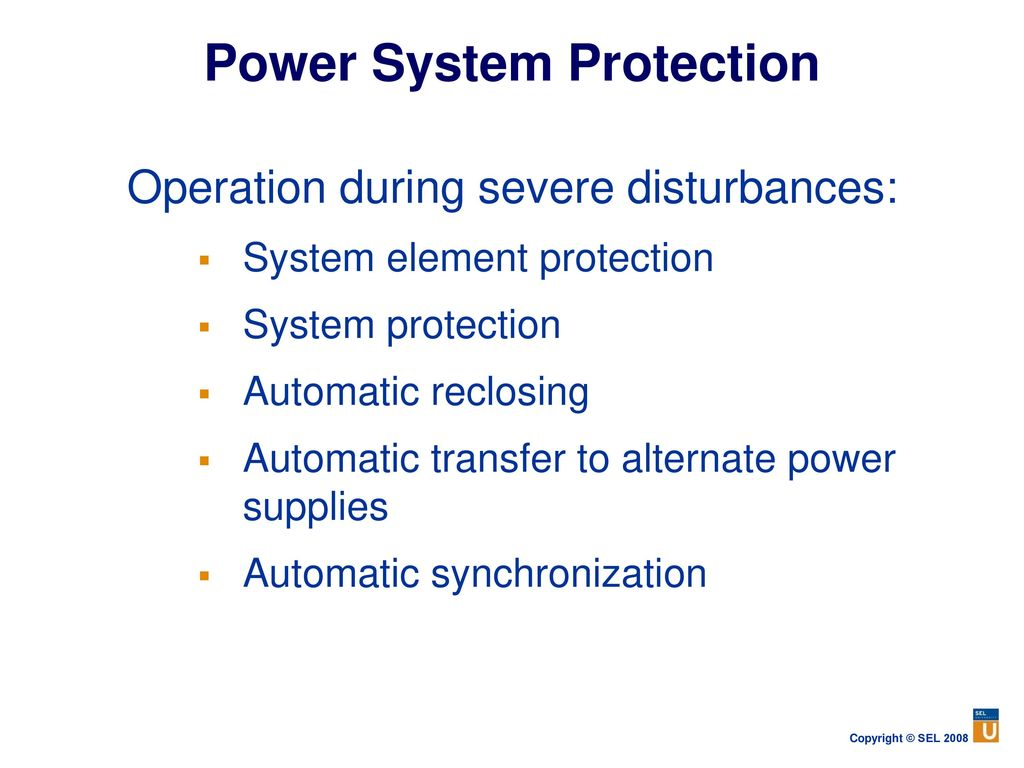 Power system protection Term paper Sample - July 2019 - 1503 words