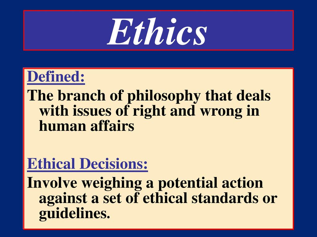 ethics branch of study dealing with Test and improve your knowledge of introduction to ethics & morals with fun ethics is a field of study that ethics is a branch of philosophy dealing.