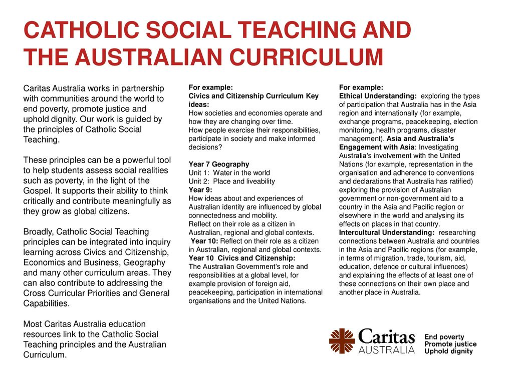 relationship between ethics and catholic social teaching