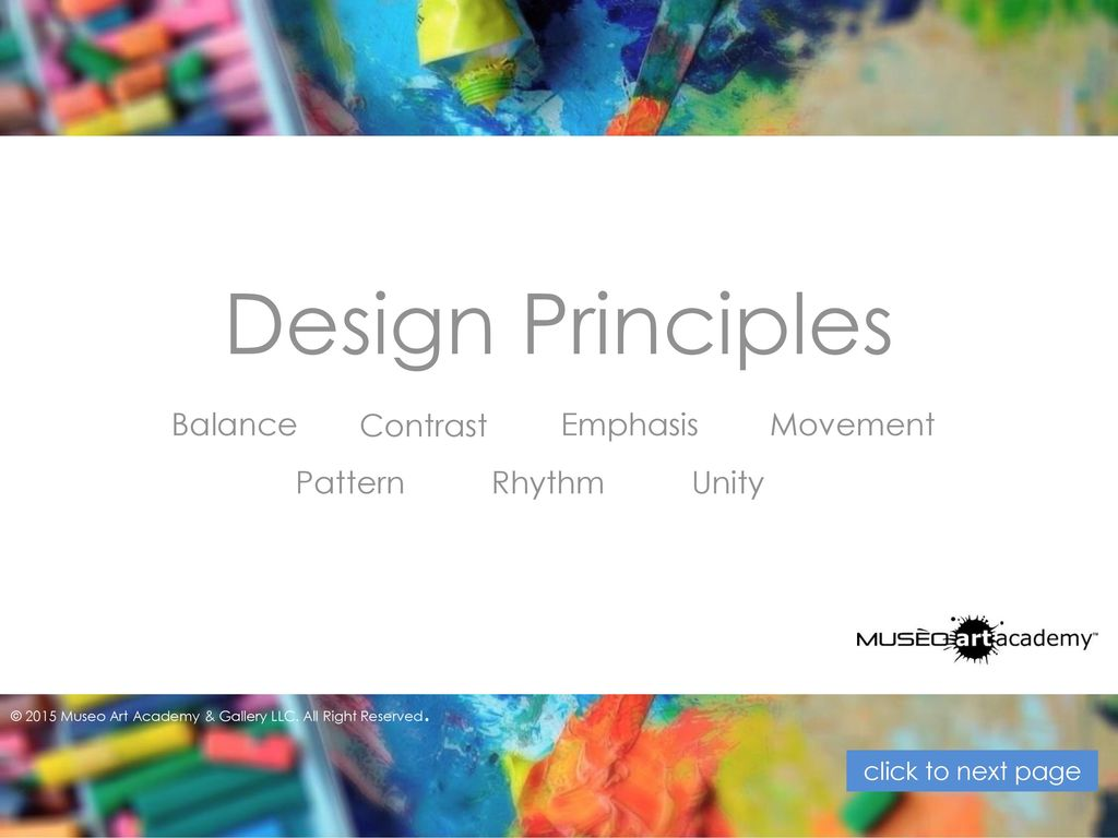 Basic Design Principles In Art : Art elements and design principles ppt video online download