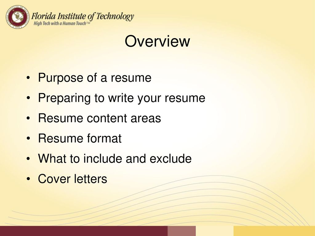 creating an effective resume cover letter ppt