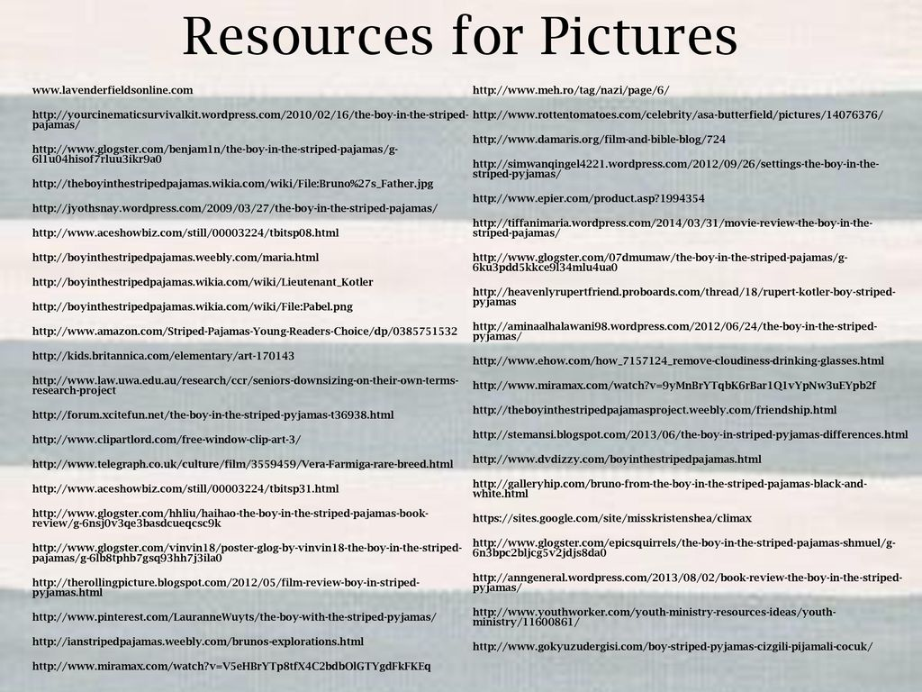 the boy in the striped pajamas ppt video online  50 resources for pictures
